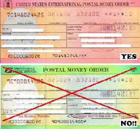 All Postal Money Orders Must Be Payable To Earth One Industries